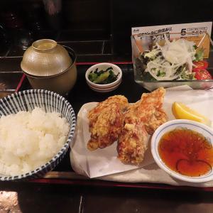 神戸、三宮  「神戸たん龍」-からあげ定食