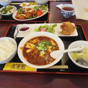 神戸、三宮 「友喜苑」-麻婆豆腐セット