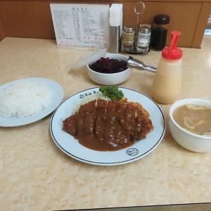 神戸、三宮「洋食 赤ちゃん」-チキンカツ定食
