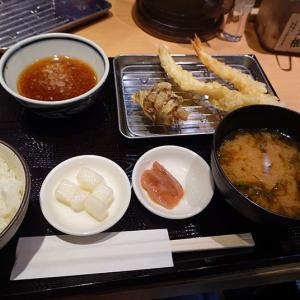 神戸、三宮  「天ぷら まきの」-天ぷら定食☆