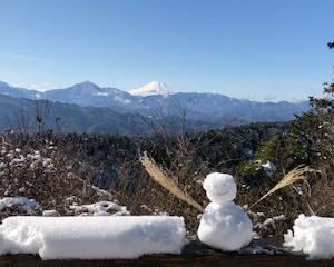 【ハイキング】雪の高尾山を愉しむ!