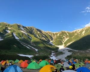 【ハイキング】立山、雷鳥沢キャンプ場でテント泊!