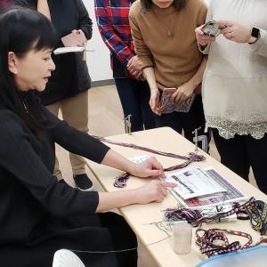 ◇《カード織り》想像以上にバリエーション豊かに使える手芸アイテム♪