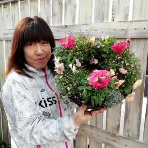 草花リースレッスンとお正月飾りWSお知らせ