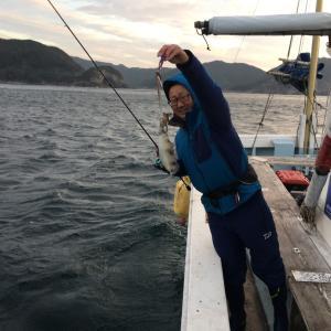 11月19日の釣果です。ティップランオンリーで行って来ました〜!