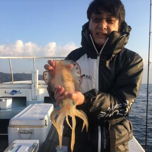 12月12日の釣果です。アオリイカ餌釣りに行って来ました〜!