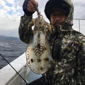 1月24日の釣果です。ティップランオンリーで行って来ました〜!