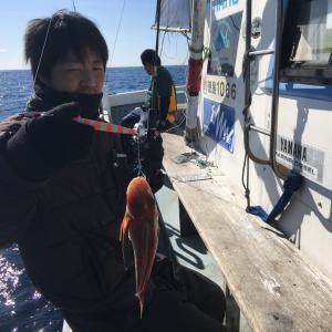 2月18日の釣果です。近海ジギングに行って来ました〜!