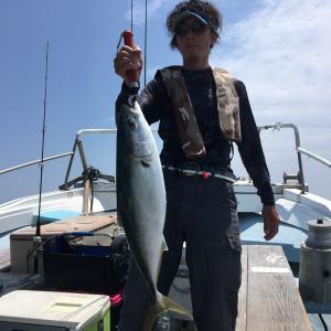 6月16日の釣果です。イサギ天秤流し釣り〜サビキ呑ませ&ジギングのリレー釣りに行ってきました〜!