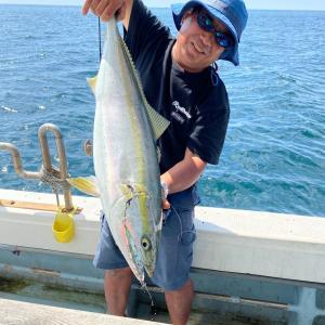 8月1日の釣果です。近海ジギング&サビキ呑ませに行ってきました〜!