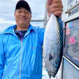 9月20日の釣果です。カツオオキアミ完全流し釣りに行って来ました〜!