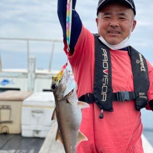 6月6日の釣果です。中深海スロージギングアカムツ狙いに行って来ました〜!