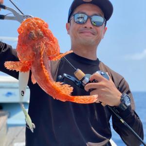 6月24日の釣果です。中深海スロージギングに行って来ました〜!