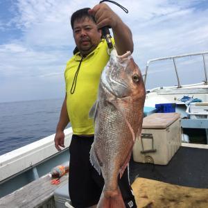 カツオ狙い、オキアミ完全流し釣り!に行って来ました〜!