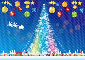 静岡市のクリスマスフェスタ2015 ツインメッセ