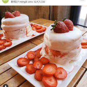 ソウル旅で食べたい!イチゴとアワビ!!