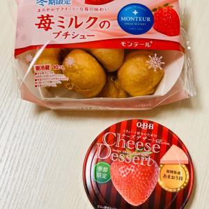 ついつい買っちゃう季節限定のイチゴちゃん!
