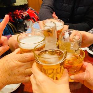 韓国好きのみんなと新年会!食べ飲みまくり!笑