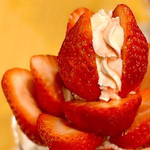 4種のいちごの食べ比べパフェ@フルーツパーラーゴトー