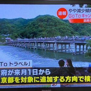 Go To トラベル!来月から東京もOK!?