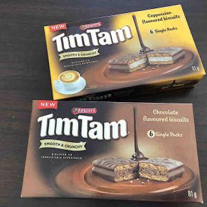 インドでオーストラリアのお菓子TimTam♪