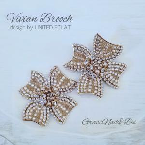 「vivian brooch」名古屋グルーデコ