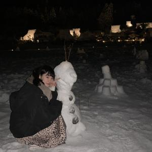 ☆ 今年初めて見た雪 ☆