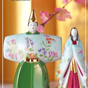 【ALL手描き】ヘレンド フォーシーズン風のお雛様♪<◆生徒様作品集◆>