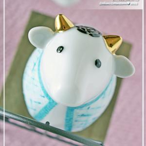 来年の干支♪ツィード&すずらん&ブランケットの可愛すぎる牛たち♪<◆生徒様作品集◆>