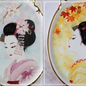 美しすぎる舞妓さん♪桜と紅葉をバックに♪<◆生徒様作品集◆>