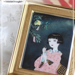 今日は七夕♪願いを込めて陶板に♪<◆生徒様作品集◆>