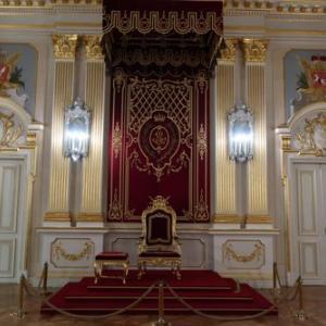 ポーランド旅行12・旧王宮つづき、王宮併設カフェ