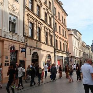 ポーランド旅行15・中央広場