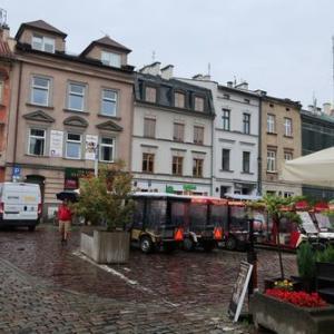 ポーランド旅行17・カジミエシュ地区、Ariel(レストラン)