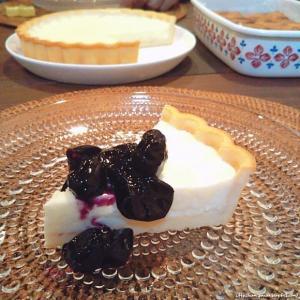 ヨーグルトとクリームチーズでレアチーズケーキとベイクドチーズケーキ