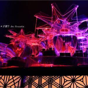 「アートアクアリウム2019~江戸・金魚の涼~」(1)~テーマは組子
