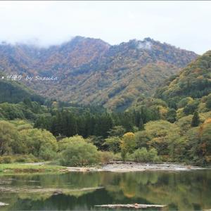 越後路の紅葉を巡るプチ旅・1 ~大源太湖