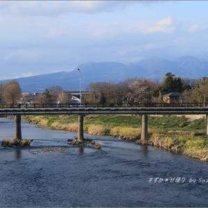 川のある懐かしい風景 ~故郷の春・1