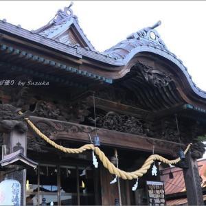 「伊勢崎神社」、意外な歴史と銘仙柄の御朱印 ~故郷の春・4