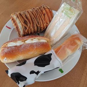 ますやパン 麦音店のパン