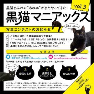 黒猫飼いの方はお急ぎを!!!