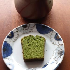 抹茶のパウンドケーキ & 和三盆のパウンドケーキ