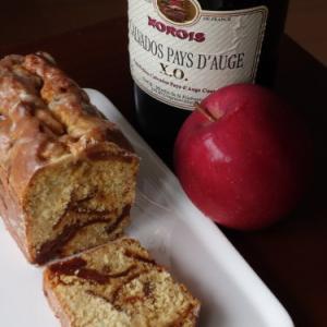 大人味の林檎のパウンドケーキ