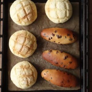 菓子パン生地の復習*メロンパン