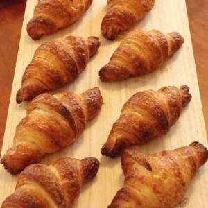 Pさんのパンレッスン*クロワッサンとクロッカン&ピタパン