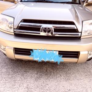 トヨタ ハイラックスサーフ シート補修、塗装