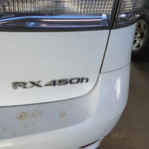レクサスRX 内装補修、塗装