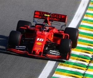 F1ブラジルGP:ルクレール「予選Q3で0.3秒のミスをした」「決勝は可能な限りアグレッシブに行く」