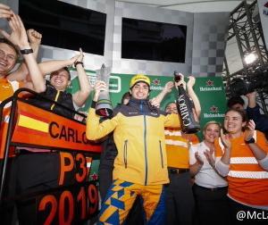 F1ブラジルGP:マクラーレンのサインツが初表彰台に!チームとしては2014年以来5年ぶり