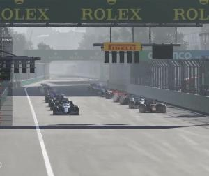 【動画】F1バーチャルGP「アゼルバイジャン」はラッセルが優勝で3連勝、ポイントリーダーに